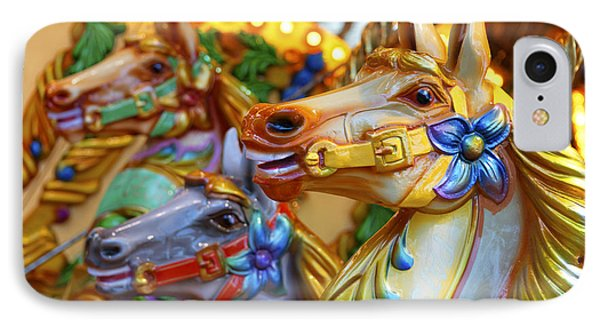Carousel Horses IPhone Case
