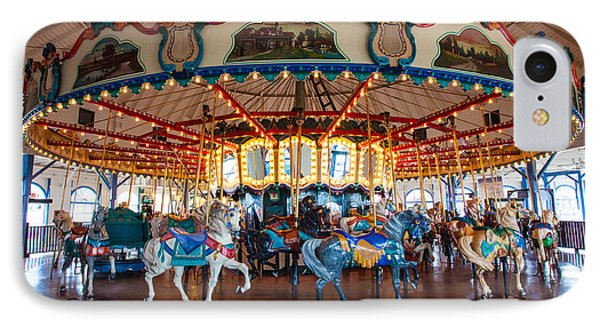 IPhone Case featuring the photograph Carousel Ride by Jerry Cowart