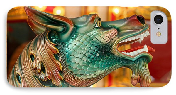 Carousel Seahorse IPhone Case by Sabrina L Ryan