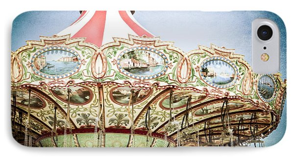 Carousel Top IPhone Case by Colleen Kammerer