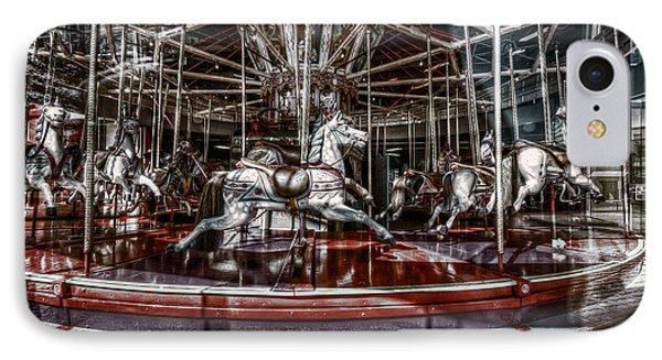Carousel IPhone Case by Wayne Sherriff