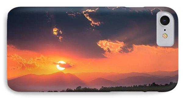 Carpathian Sunset IPhone Case by Mihai Andritoiu