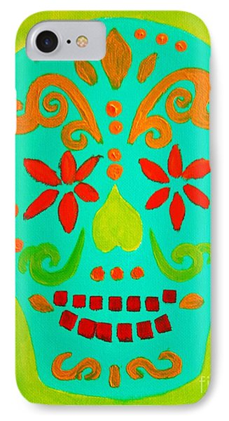 IPhone Case featuring the painting Carpe Diem Series by Janet McDonald