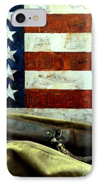 IPhone Case featuring the photograph Carpetbagger by Newel Hunter