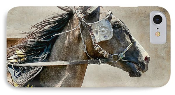IPhone Case featuring the photograph Carriage Horse by Susi Stroud