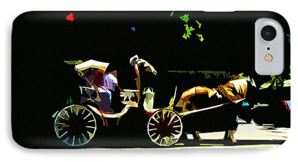 Carriage Ride Phone Case by CHAZ Daugherty