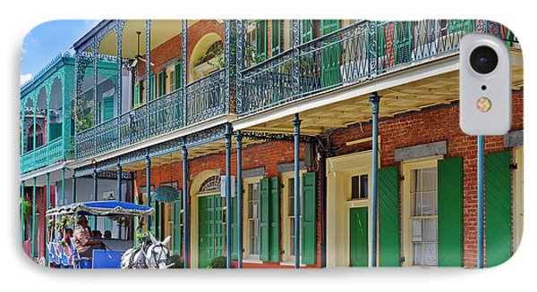 Carriage Ride New Orleans IPhone Case by Christine Till