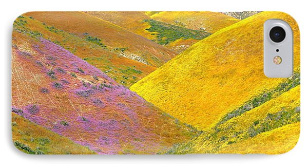 Carrizo Wildflowers IPhone Case by Marc Crumpler