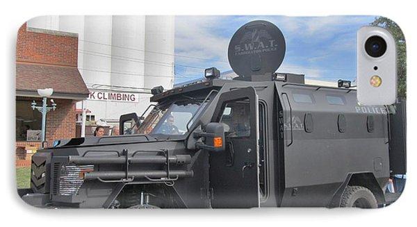 Carrollton Texas Police Vehicle Phone Case by Donna Wilson