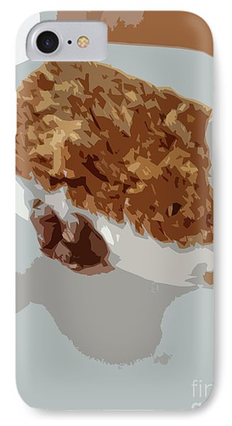 Carrot Cake Yum IPhone Case by Carol Lynch