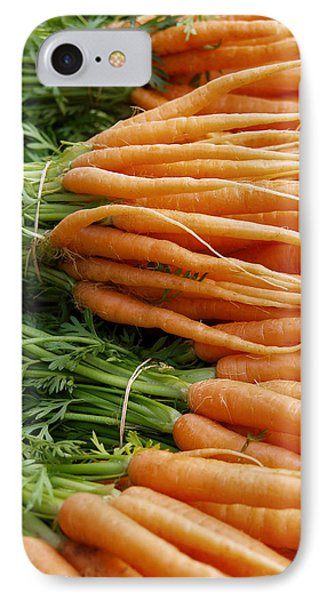 Carrots IPhone Case by Ron Harpham