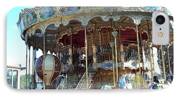 IPhone Case featuring the photograph Carrousel De Paris by Barbara McDevitt