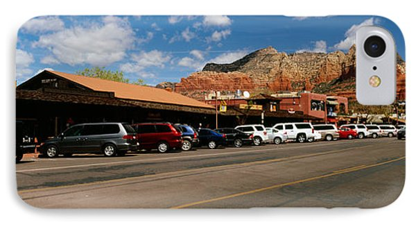 Cars Parked At The Roadside, Sedona IPhone Case