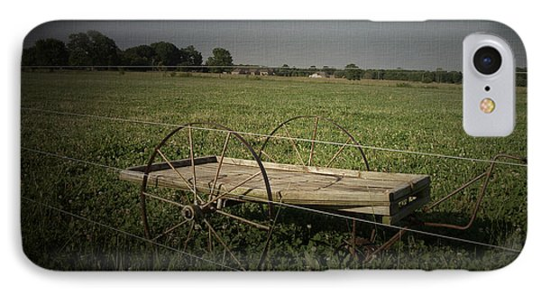IPhone Case featuring the photograph Cart by Cynthia Lassiter