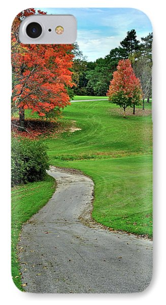 Cart Path Phone Case by Frozen in Time Fine Art Photography