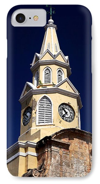 Cartagena Double Time Phone Case by John Rizzuto