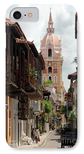 IPhone Case featuring the photograph Cartagena by Jola Martysz