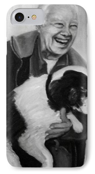 Carter And Grits IPhone Case by Martha Suhocke