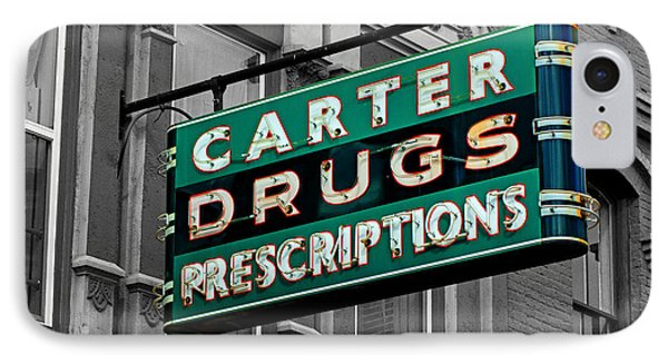 Carter Prescription Drugs IPhone Case