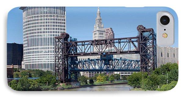 Carter Road Lift Bridge Phone Case by Bill Cobb