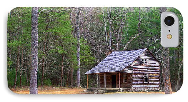 Carter Shield's Cabin II Phone Case by Jim Finch
