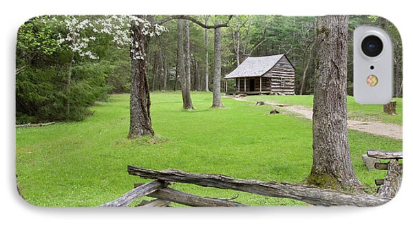 Carter Shields Cabin In Spring, Cades IPhone Case