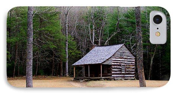 Carter Shields' Cabin Phone Case by Jim Finch