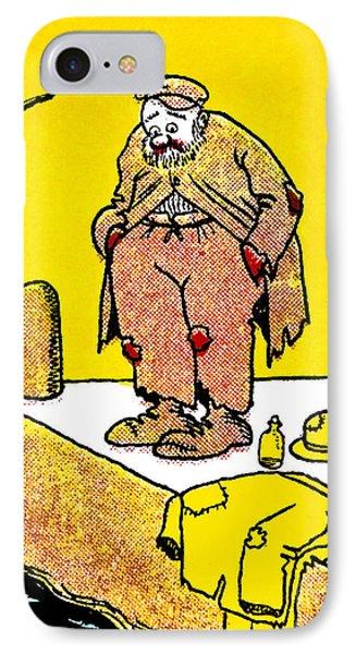 Cartoon 09 IPhone Case by Svetlana Sewell