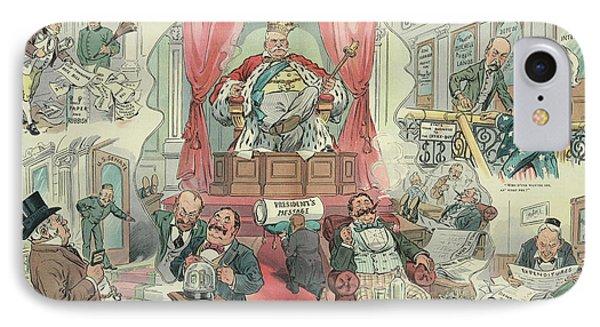 Cartoon Puck, 1905 IPhone Case