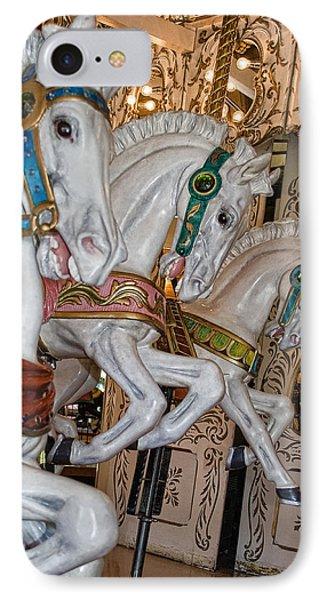 Caruosel Horses IPhone Case