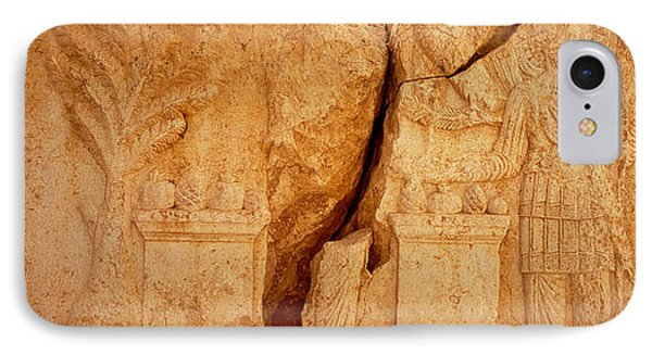 Carving On Rocks, Palmyra, Syria IPhone Case by Panoramic Images
