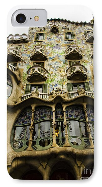 Casa Batllo Exterior IPhone Case by Deborah Smolinske