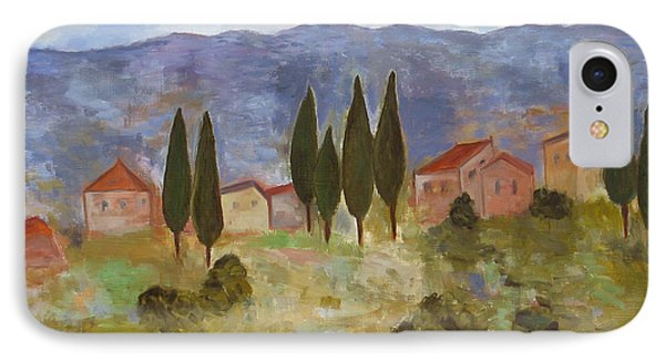 Casas De Segovia IPhone Case by Trish Toro