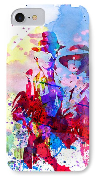 Casablanca Watercolor IPhone Case