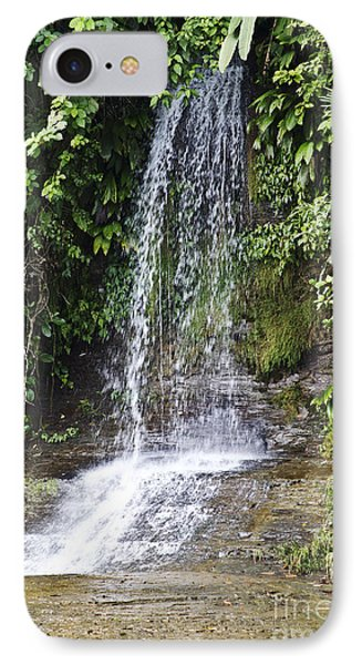 Cascada Pequena IPhone Case by Kathy McClure