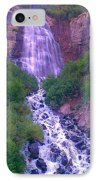 Cascade IPhone Case by Chris Tarpening