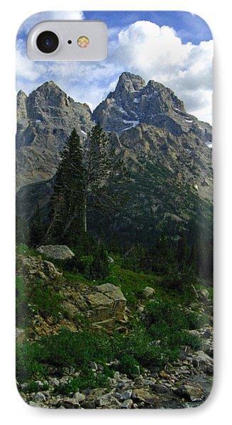 IPhone Case featuring the photograph Cascade Creek The Grand Mount Owen by Raymond Salani III
