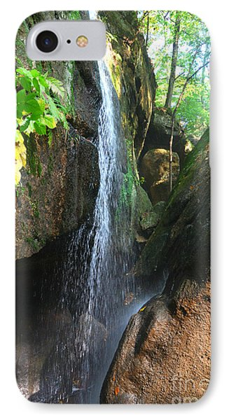 IPhone Case featuring the photograph Cascade Falls by Lila Fisher-Wenzel