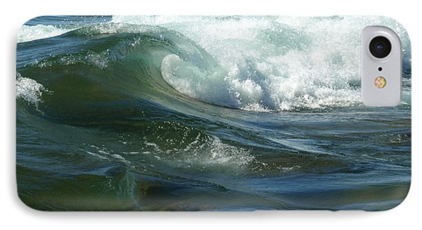 Cascade Wave IPhone Case by James Peterson