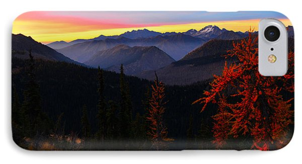 Cascades Sunrise IPhone Case by Jane Axman