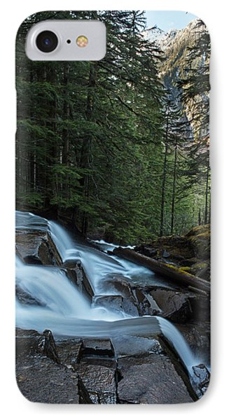 Cascading Mountain Falls Phone Case by Mike Reid