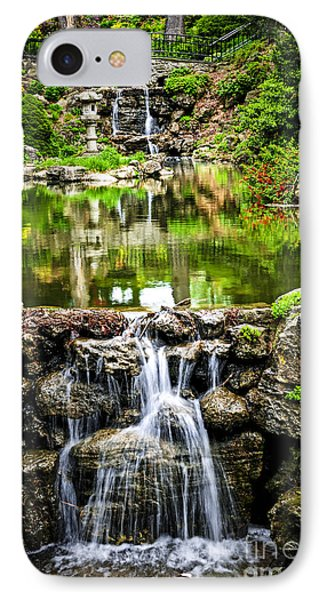 Cascading Waterfall And Pond Phone Case by Elena Elisseeva