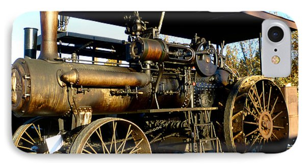 IPhone Case featuring the photograph Case Steam Tractor by Pete Trenholm
