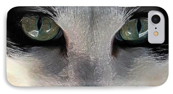 Casey Eyes IPhone Case by Dale   Ford