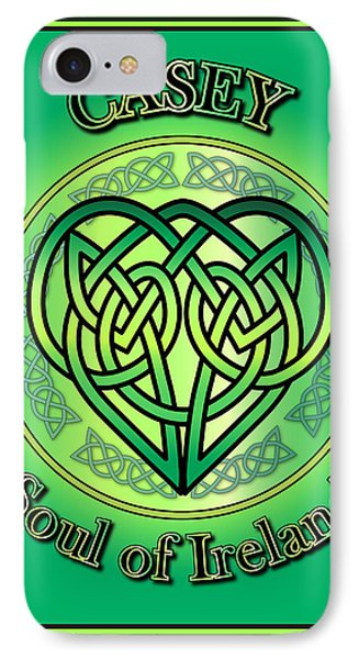 Casey Soul Of Ireland IPhone Case