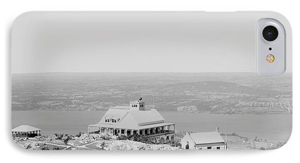 Casino At The Top Of Mt Beacon In Black And White IPhone Case