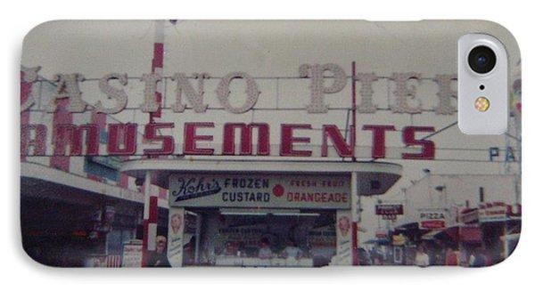 Casino Pier Amusements Seaside Heights Nj Phone Case by Joann Renner
