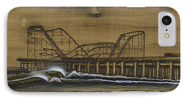 Casino Pier Tribute Phone Case by Ronnie Jackson