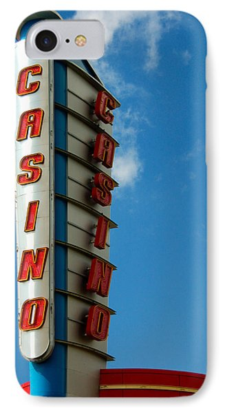 Casino Sign Phone Case by Norman Pogson