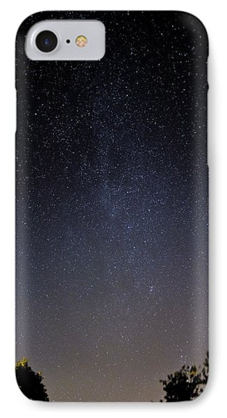 IPhone Case featuring the photograph Cassiopeia And Andromeda Galaxy 01 by Greg Reed